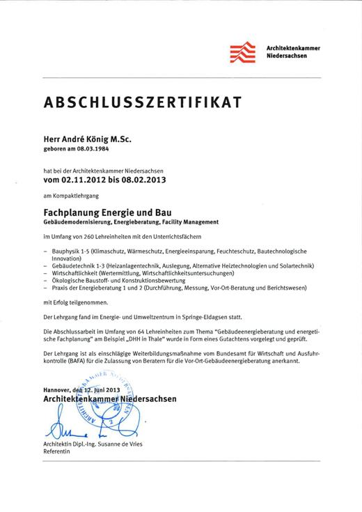 130620_Zertifikat_Andre_Koenig_Architektenkammer_NS_01